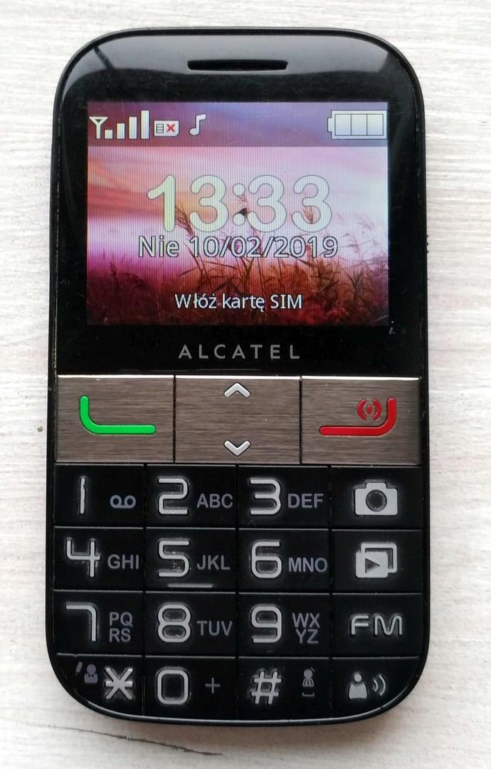 Alcatel One Touch 2001X dla seniora KRK