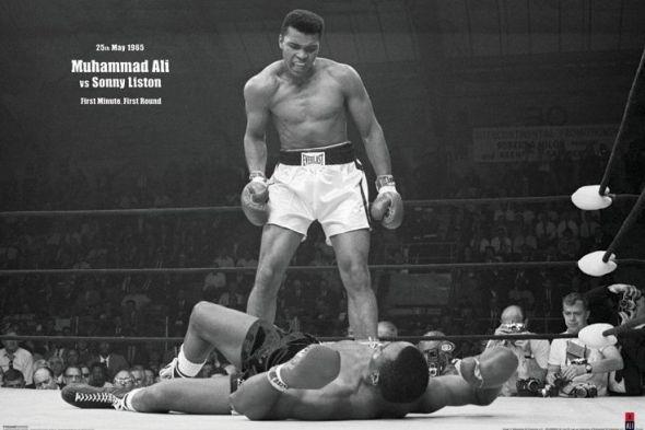 Muhammad Ali (V Liston Landscape) - plakat