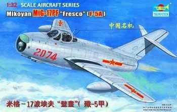 TRUMPETER 02206 - 1:32 MIG-17PF Fresco (F-5A)