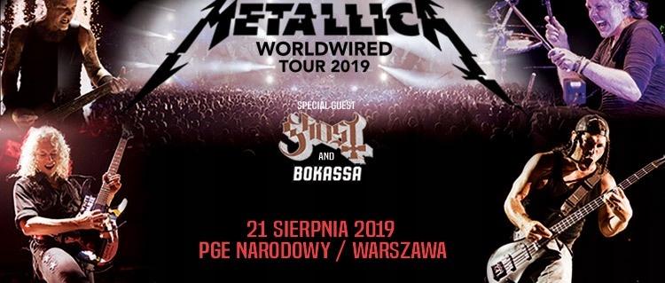 OD 1 ZŁ BCM Metallica Płyta GA 21.08 PGE Warszawa