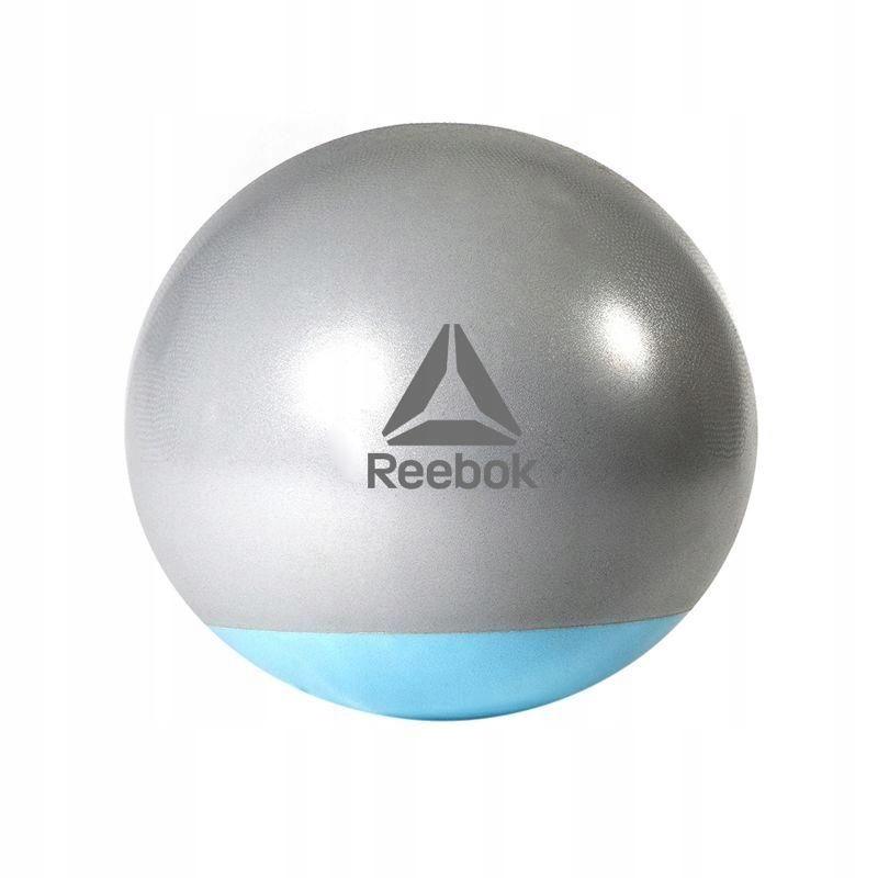 Piłka gimnastyczna Reebok dwukolorowa 75cm