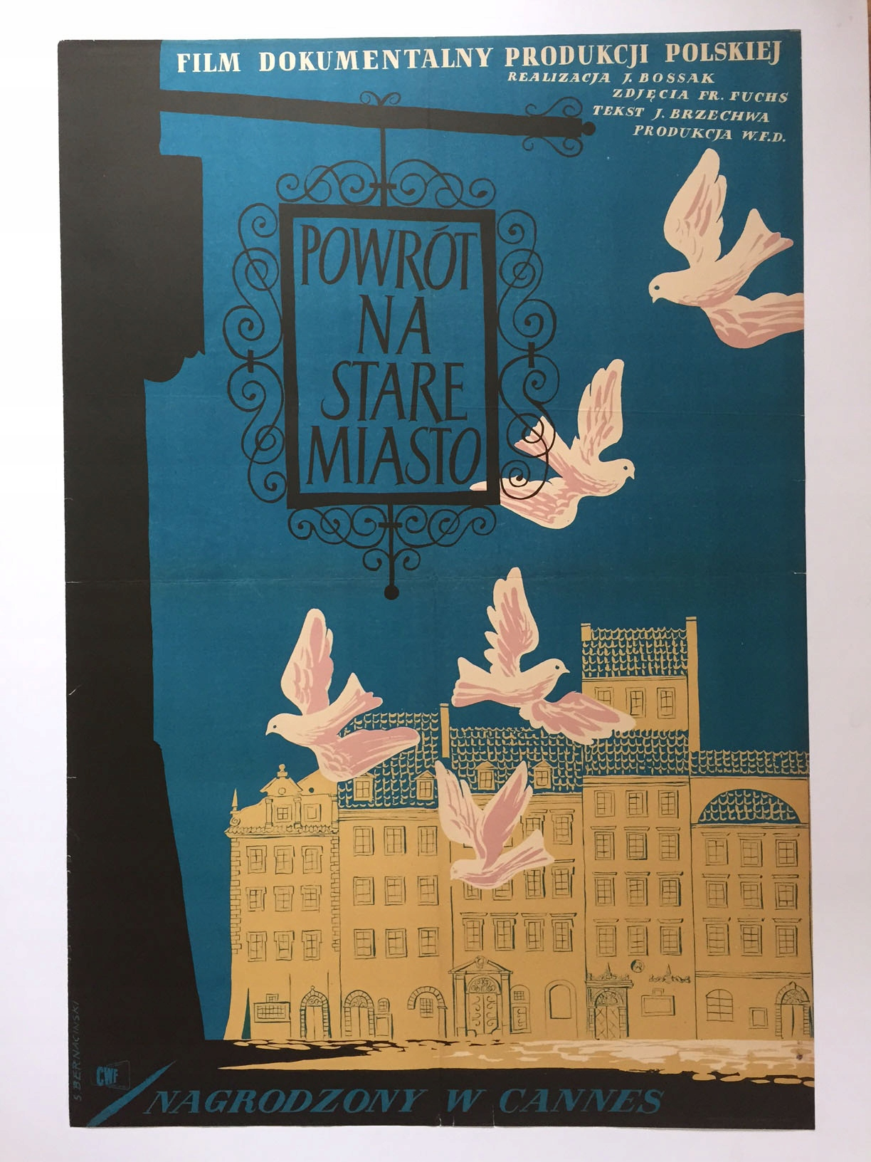 Plakat Powrót Na Stare Miasto Bernaciński
