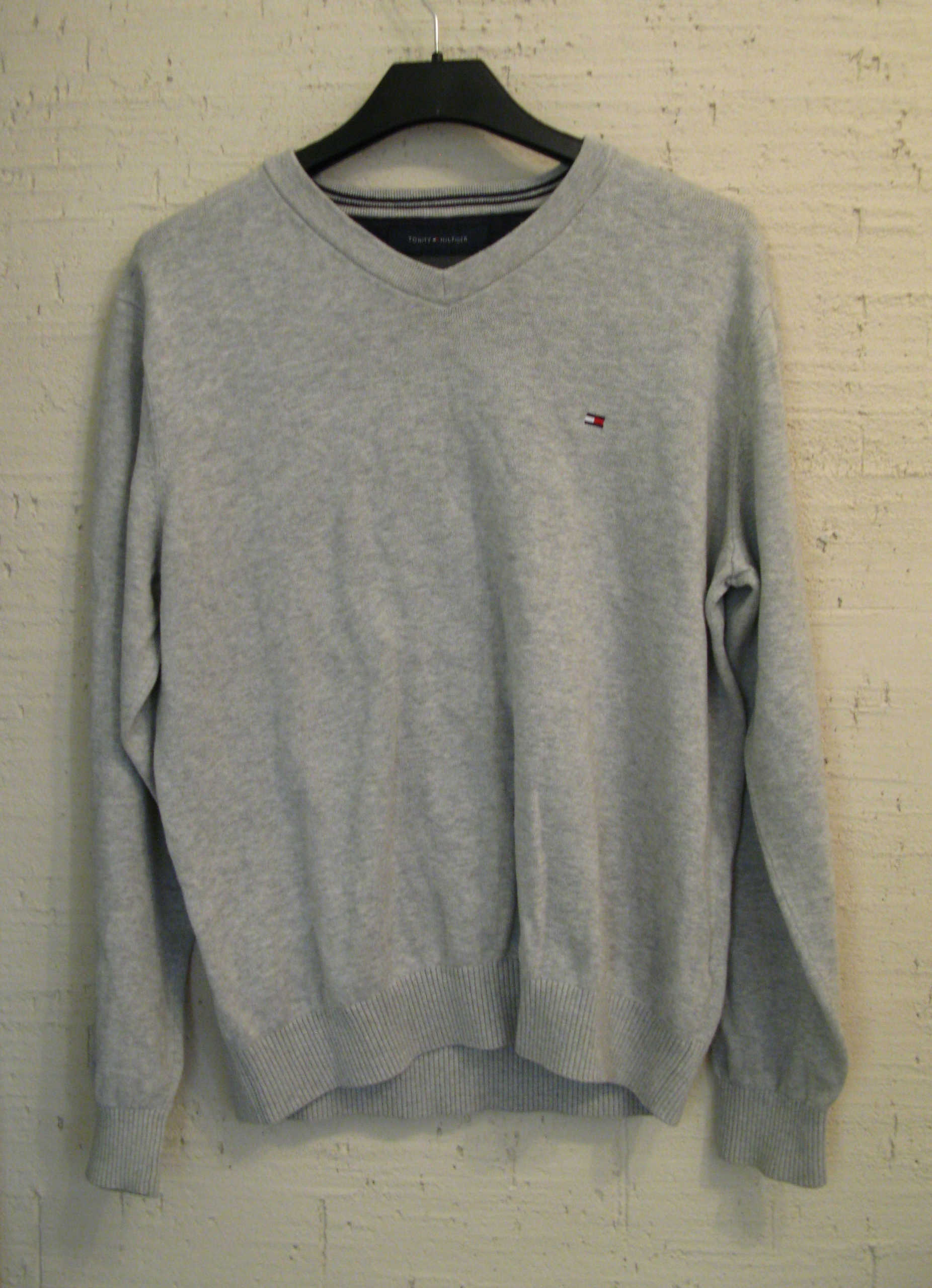 Szary sweter Tommy Hilfiger S M