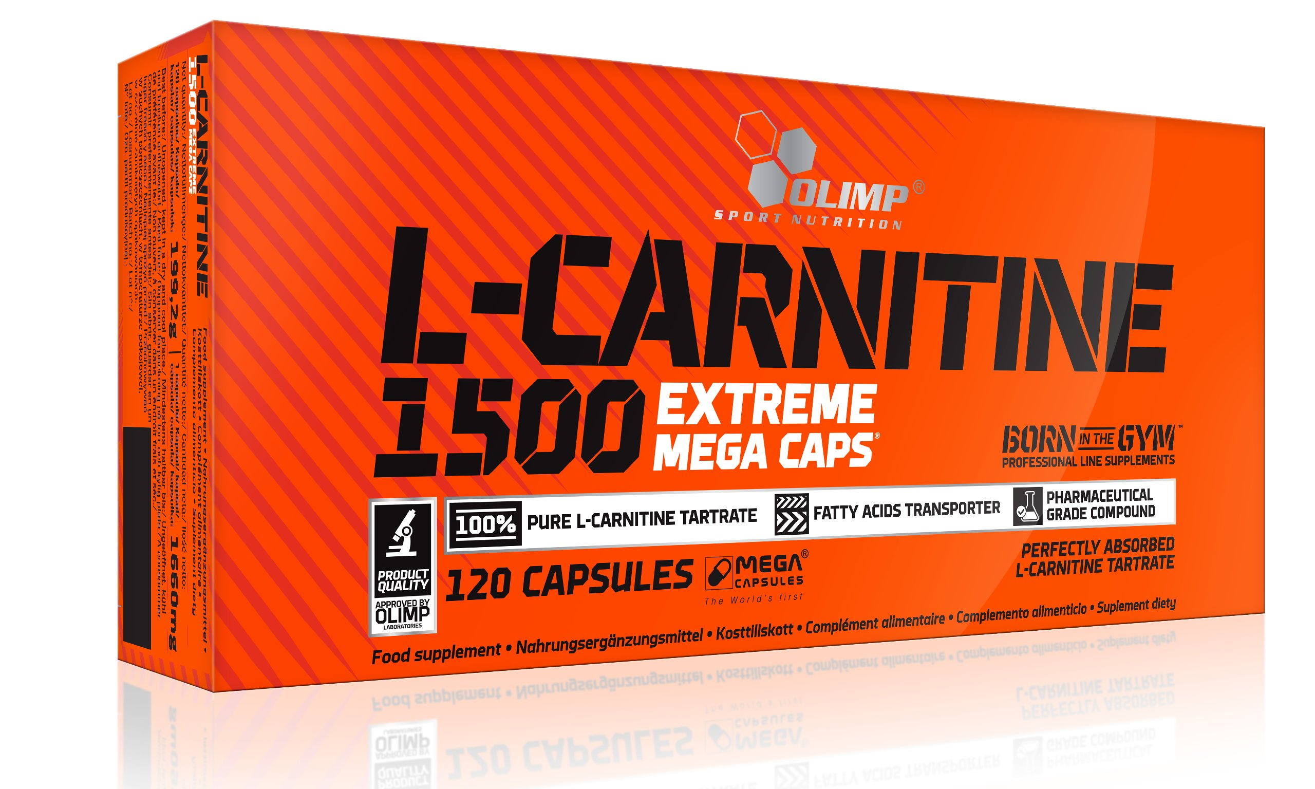 OLIMP L-CARNITINE 1500 EXTREME 120k.