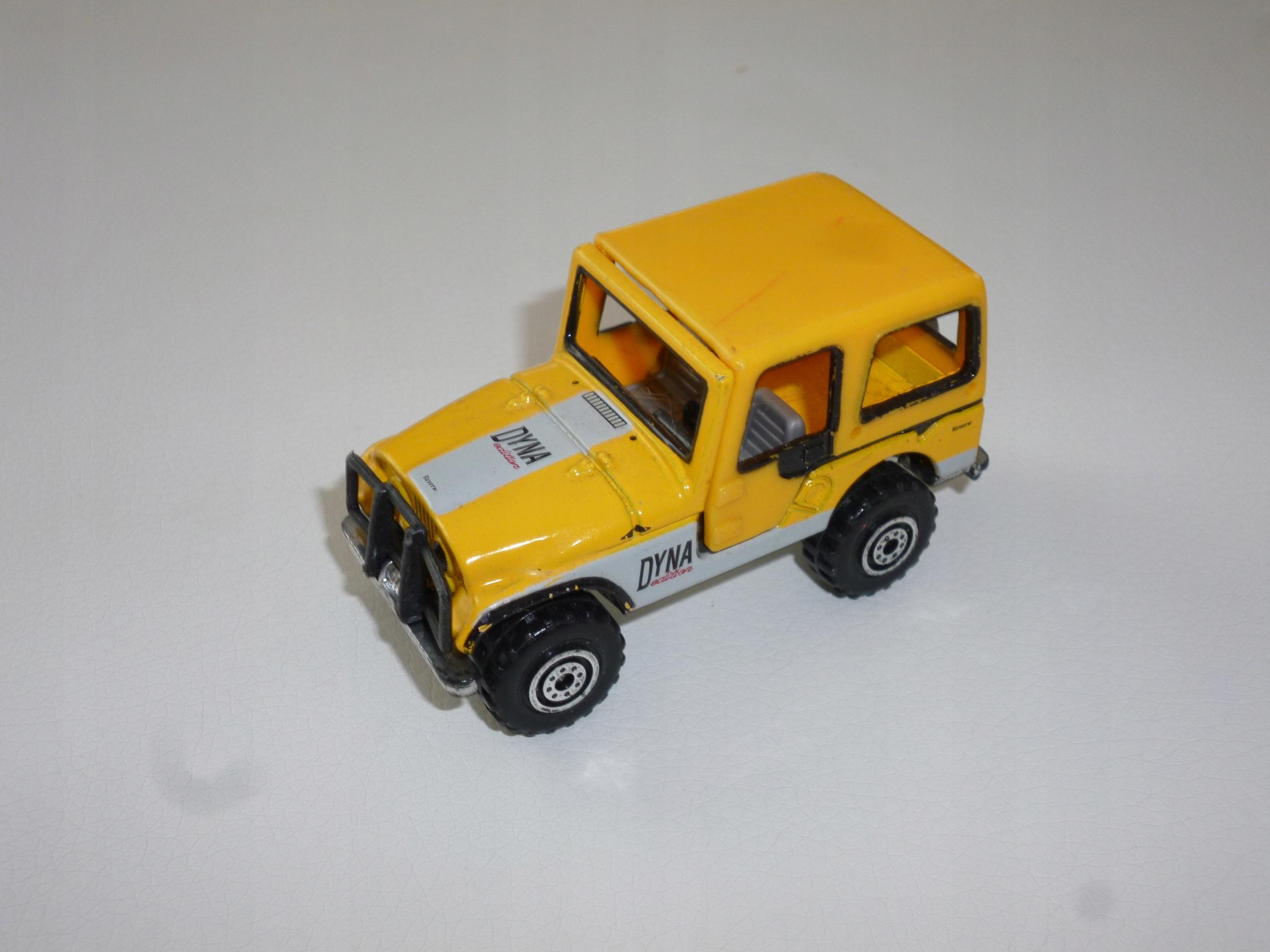 Jeep Dyna China model autko