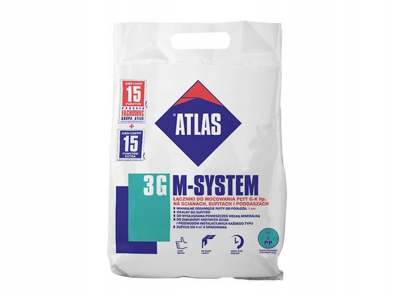 tarti24_pl Atlas M-SYSTEM 3G płyta gipsowa L100