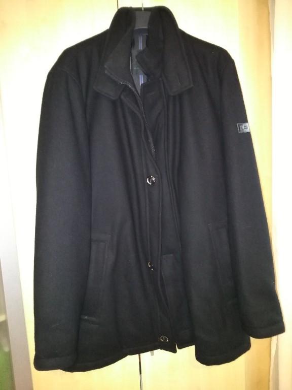 Kurtka, płaszcz wełniany, roz 56, Pierre Cardin