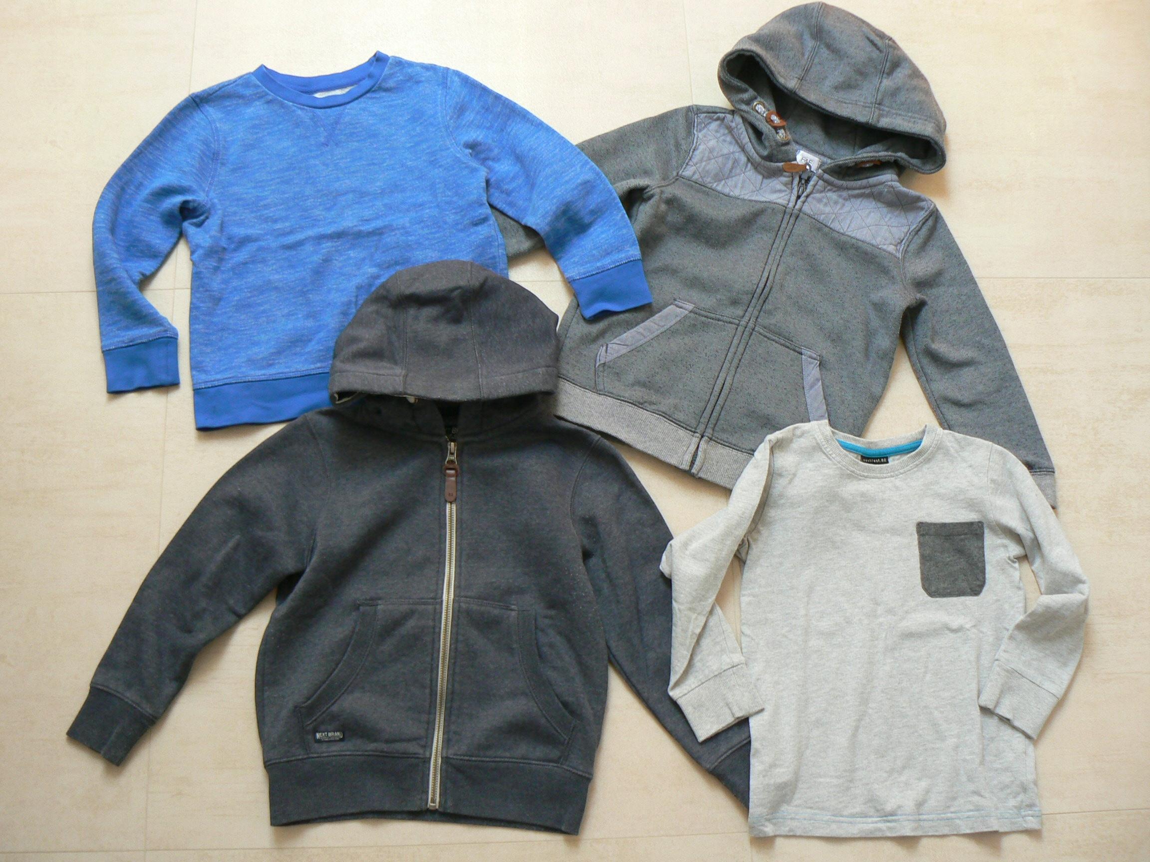 NEXT F&F zestaw bluzy+bluzka _110-116