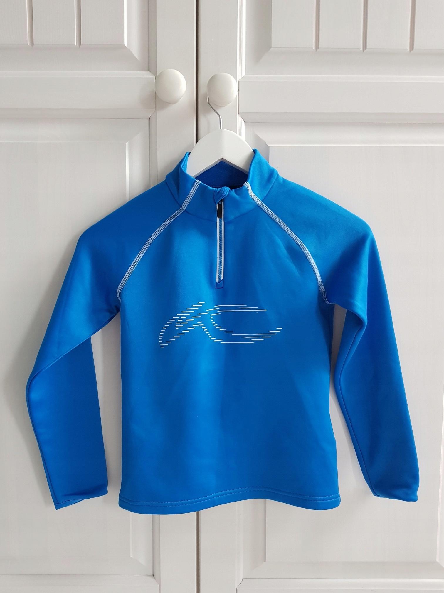 Bluza polarowa dziecięca Kjus Charger Halfzip roz