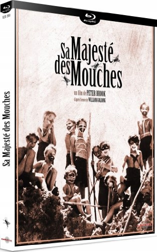 BLU-RAY Movie - Sa Majeste Des Mouches
