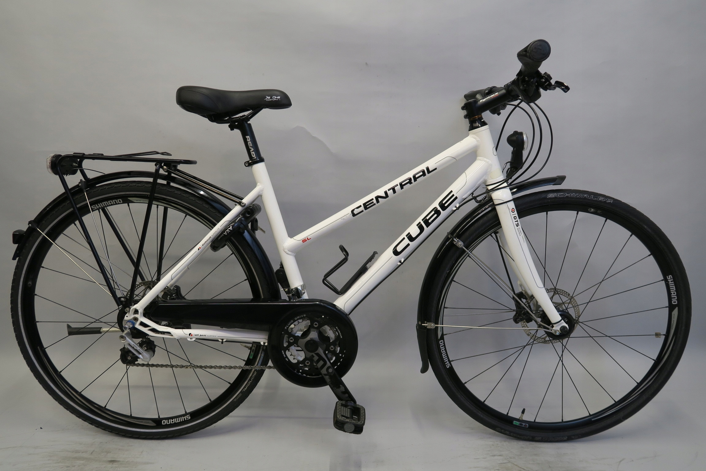 Markowy rower Cube Shimano Alfine hydraulika