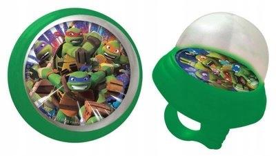 Dziecięca piszczałka na rower Żółwie Ninja NEW