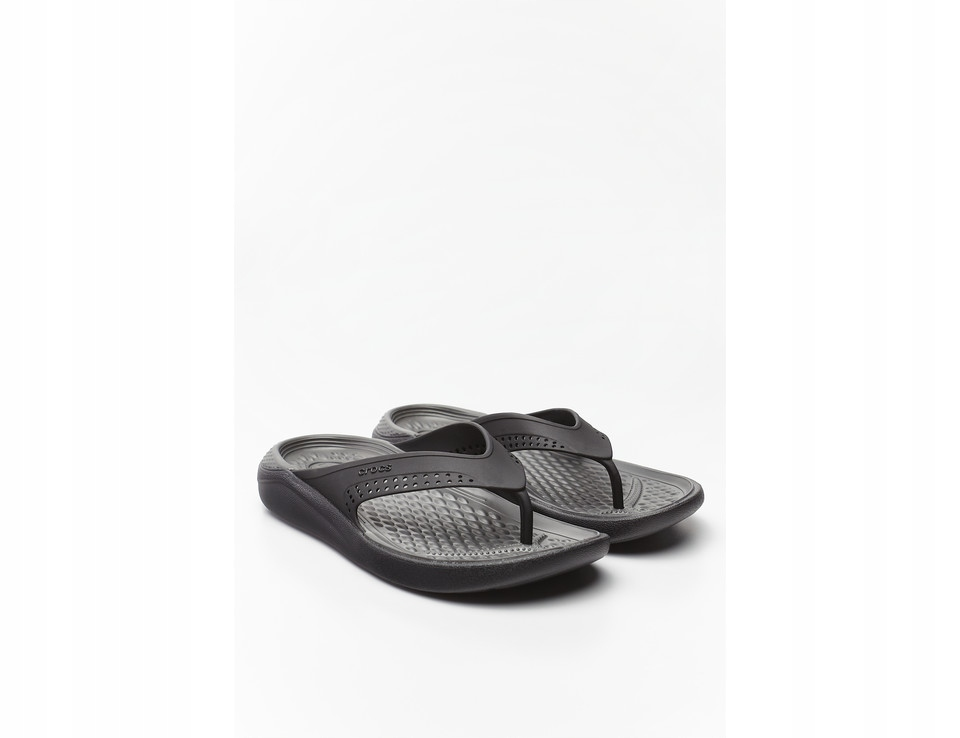 Crocs LiteRide Flip Black/Slate G 205182 39/40(M7)