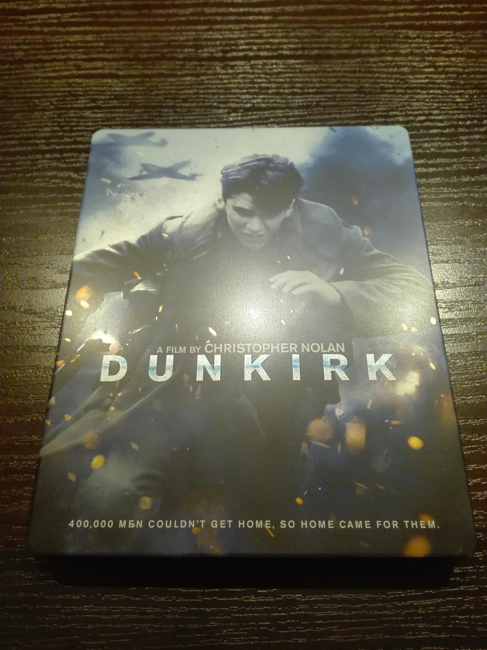 Dunkierka (2xBlu-Ray) Steelbook (Polskie Wydanie)