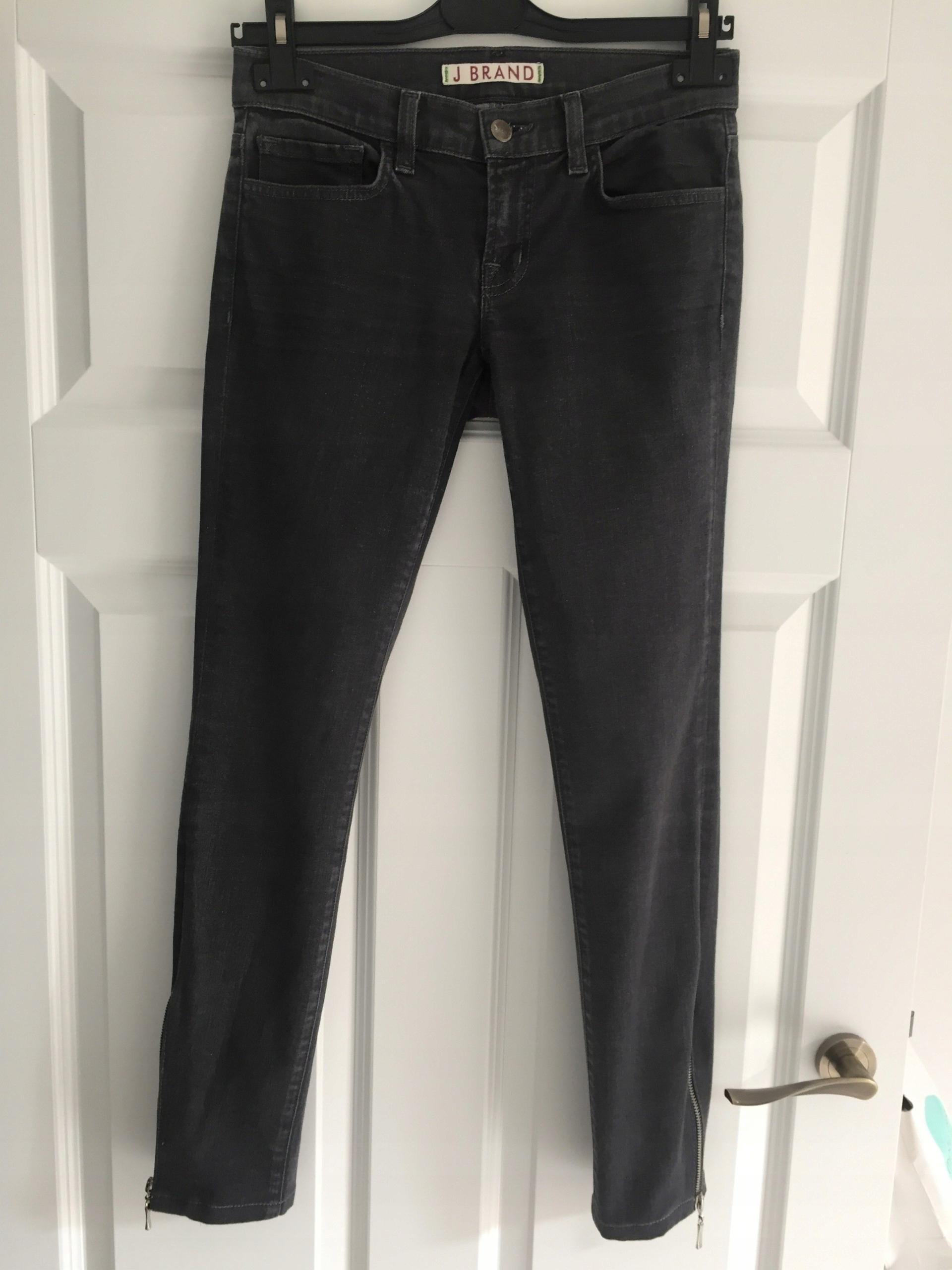 6e61d65d J brand szare jeansy 25 nogawki z zamkami - 7544935756 - oficjalne ...