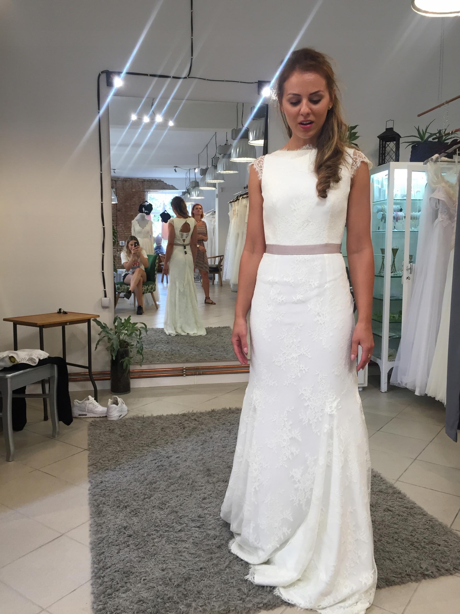 Suknia ślubna Anna Kara Elena!Niesamowita!