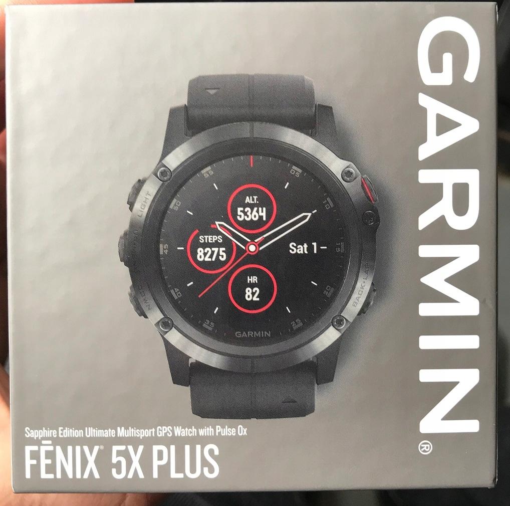 Garmin Fenix 5X PLUS - zegarek GPS - FV23%