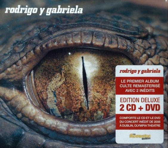 RODRIGO Y GABRIELA Rodrigo Y Gabriela 2CD+DVD 24h