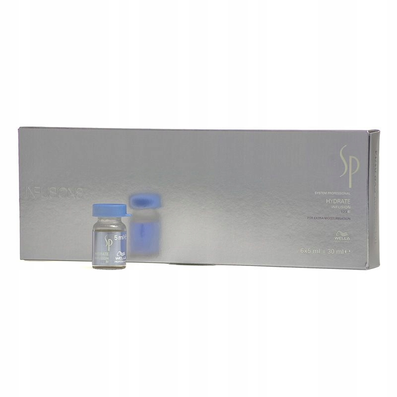 Wella SP Hydrate Ampułki 6x5 ml Nawilżanie