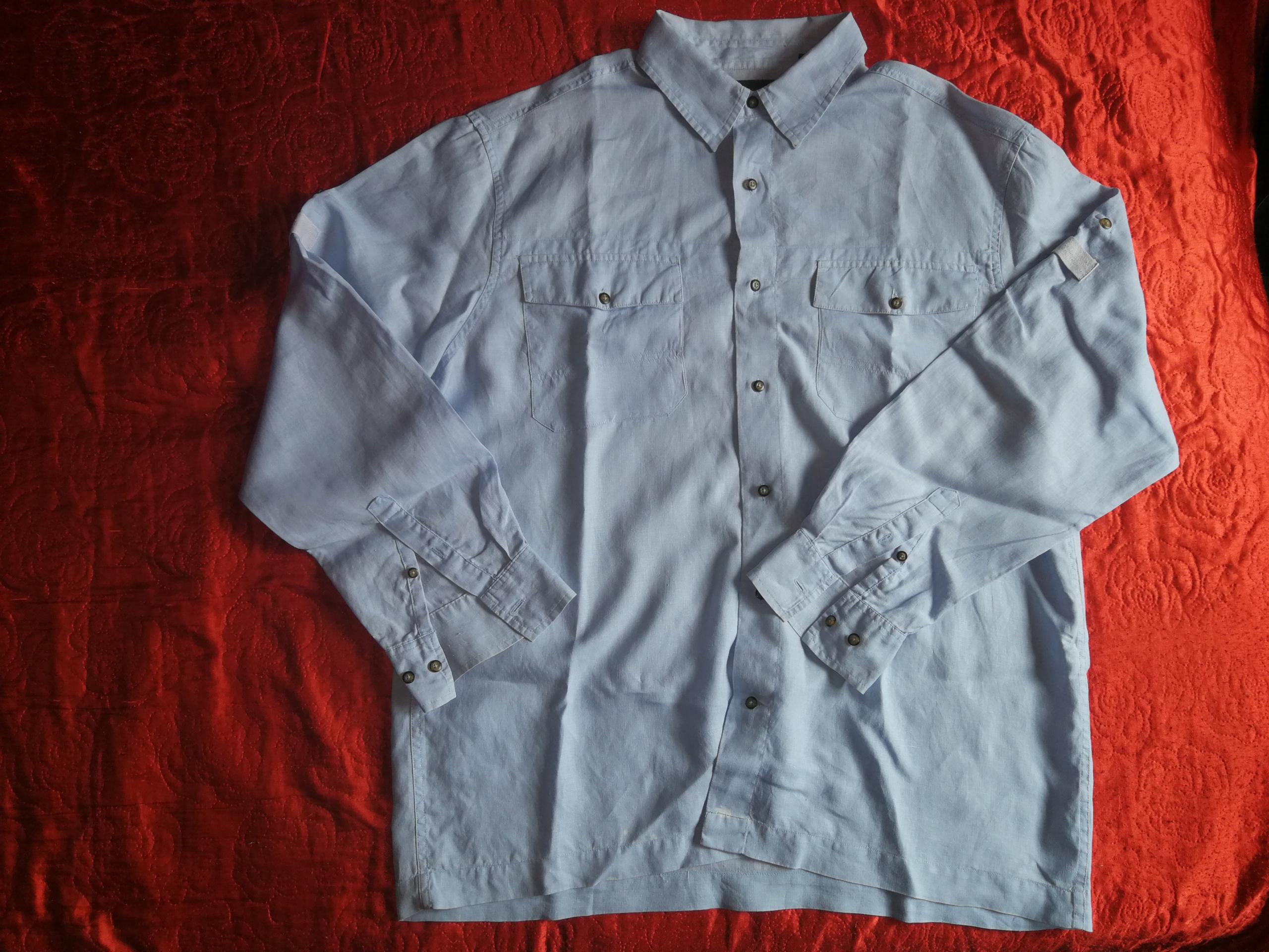 TIMBERLAND, niebieska, bawełna, XXL - obw. 138 cm