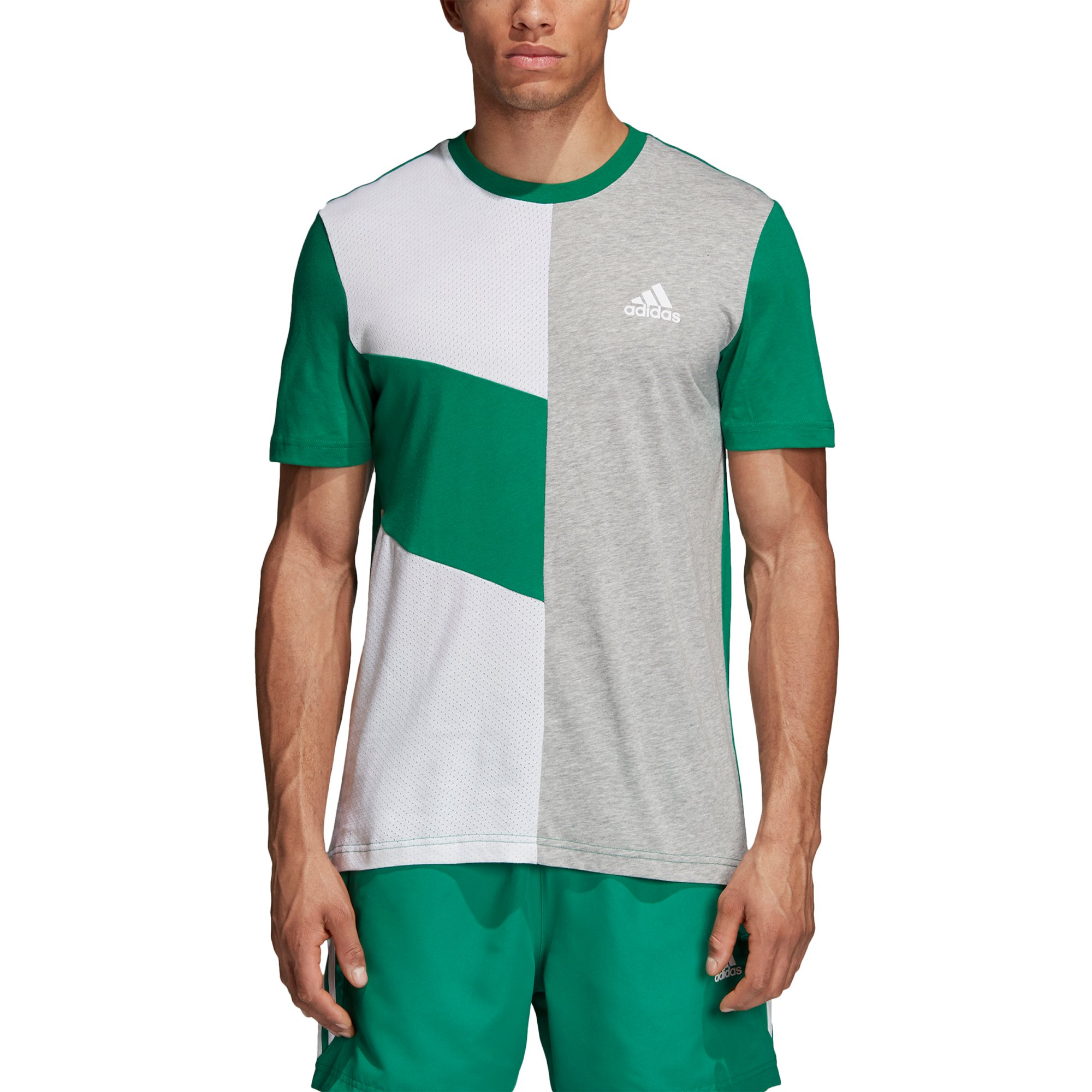 Koszulka adidas Sport ID Colourblock CF9547 L
