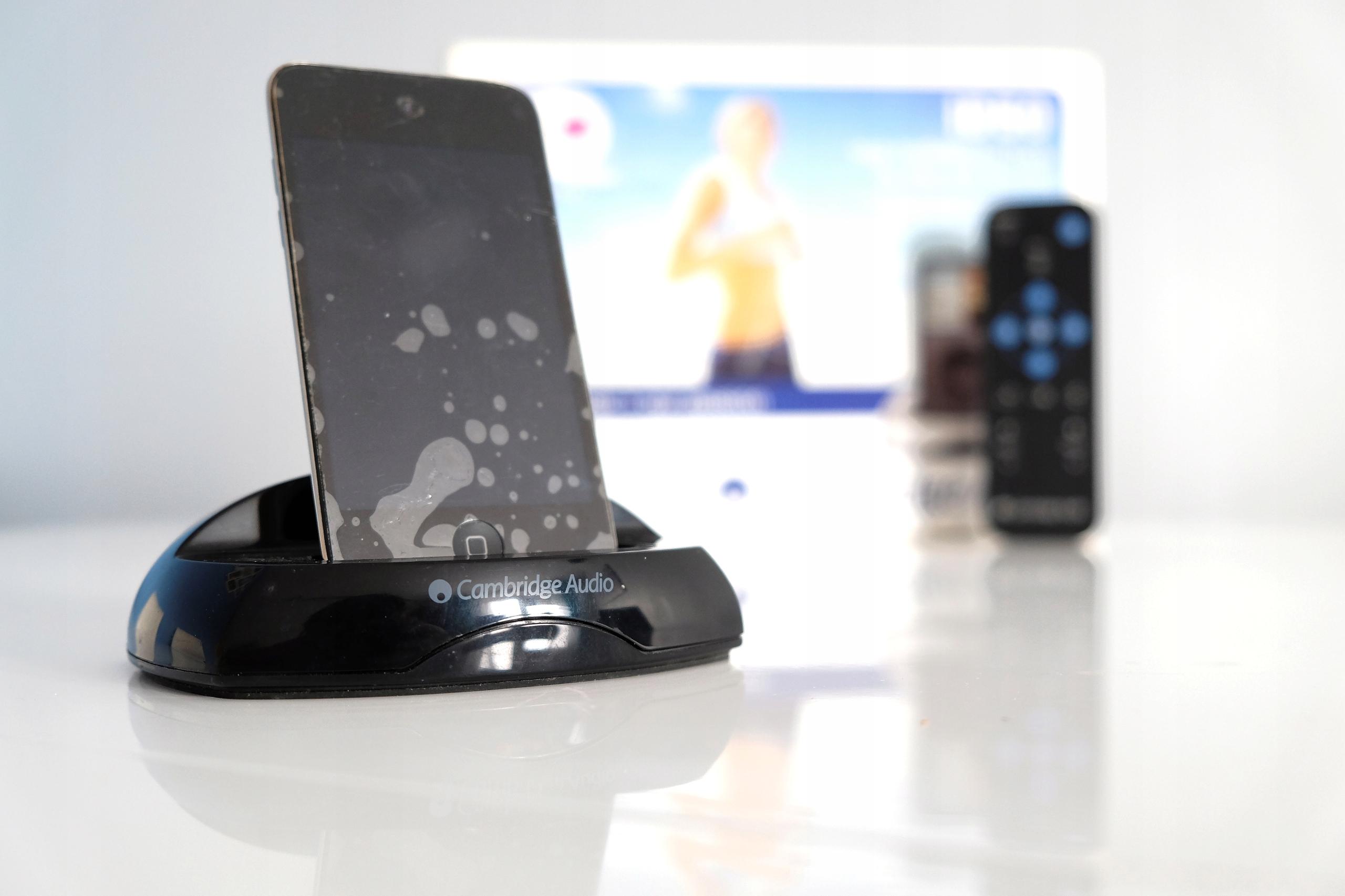 Cambridge audio id-50 + iPod Touch 4g 8 GB