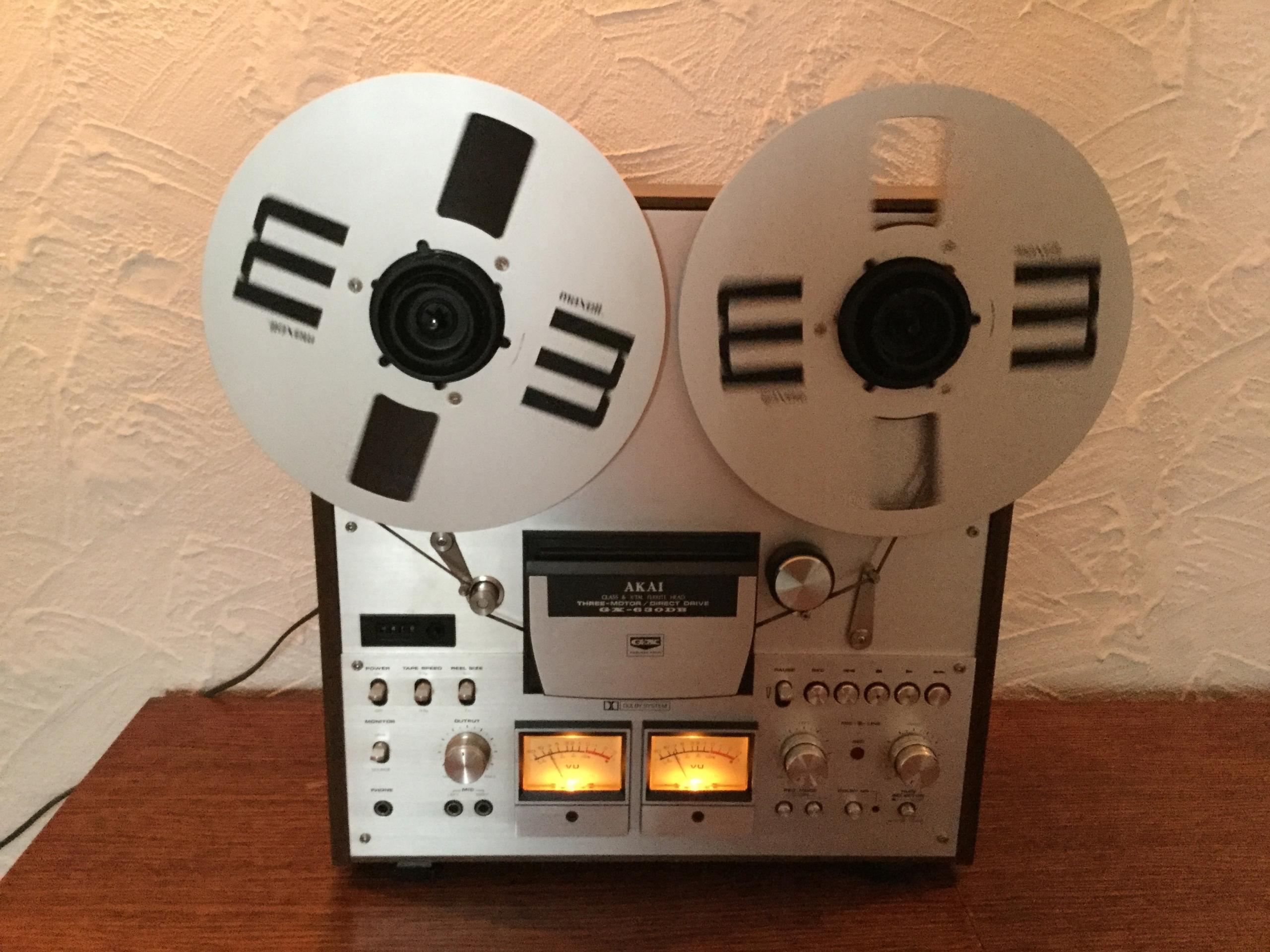 Magnetofon Szpulowy AKAI GX 630 DB