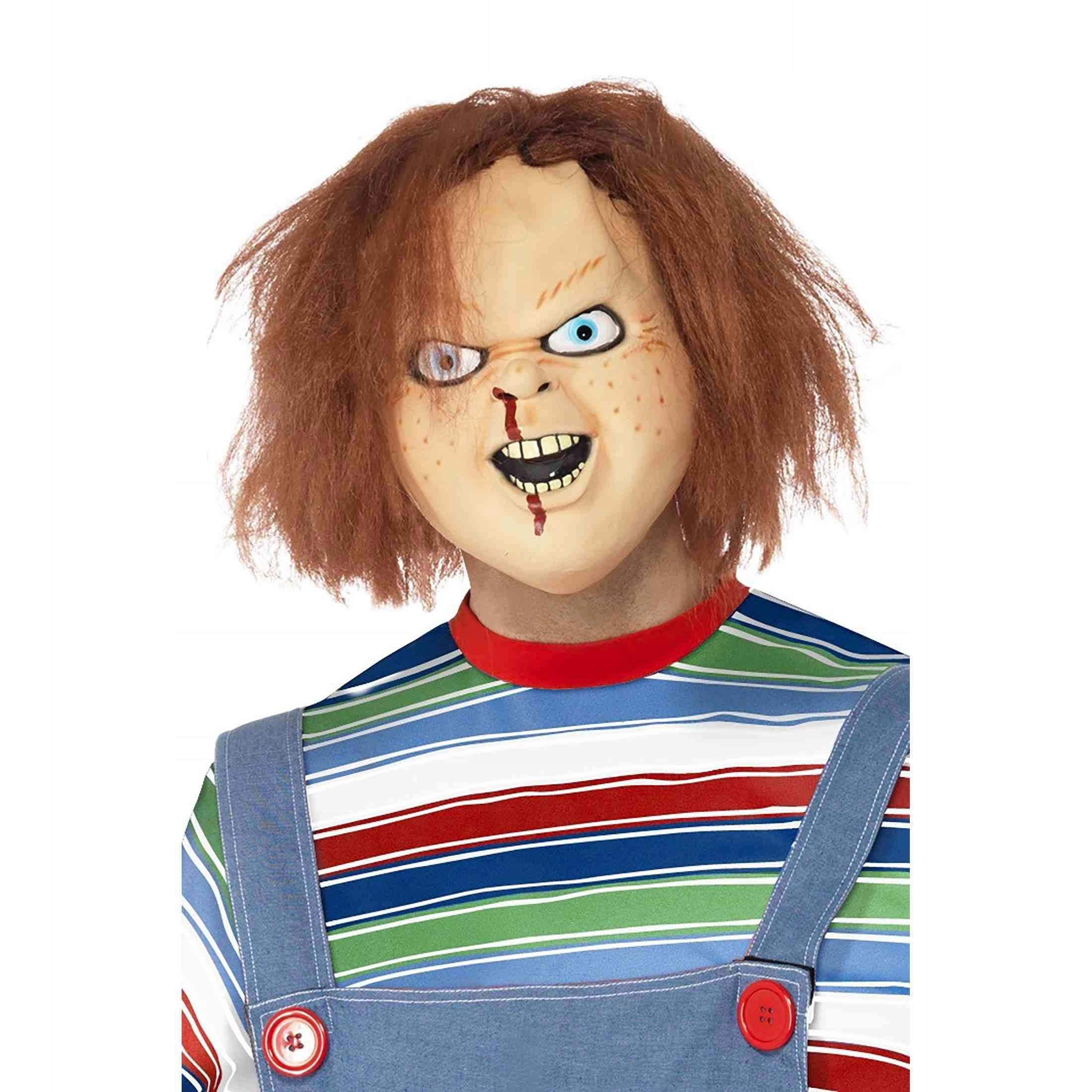 Maska lateksowa Laleczka CHUCKY Halloween