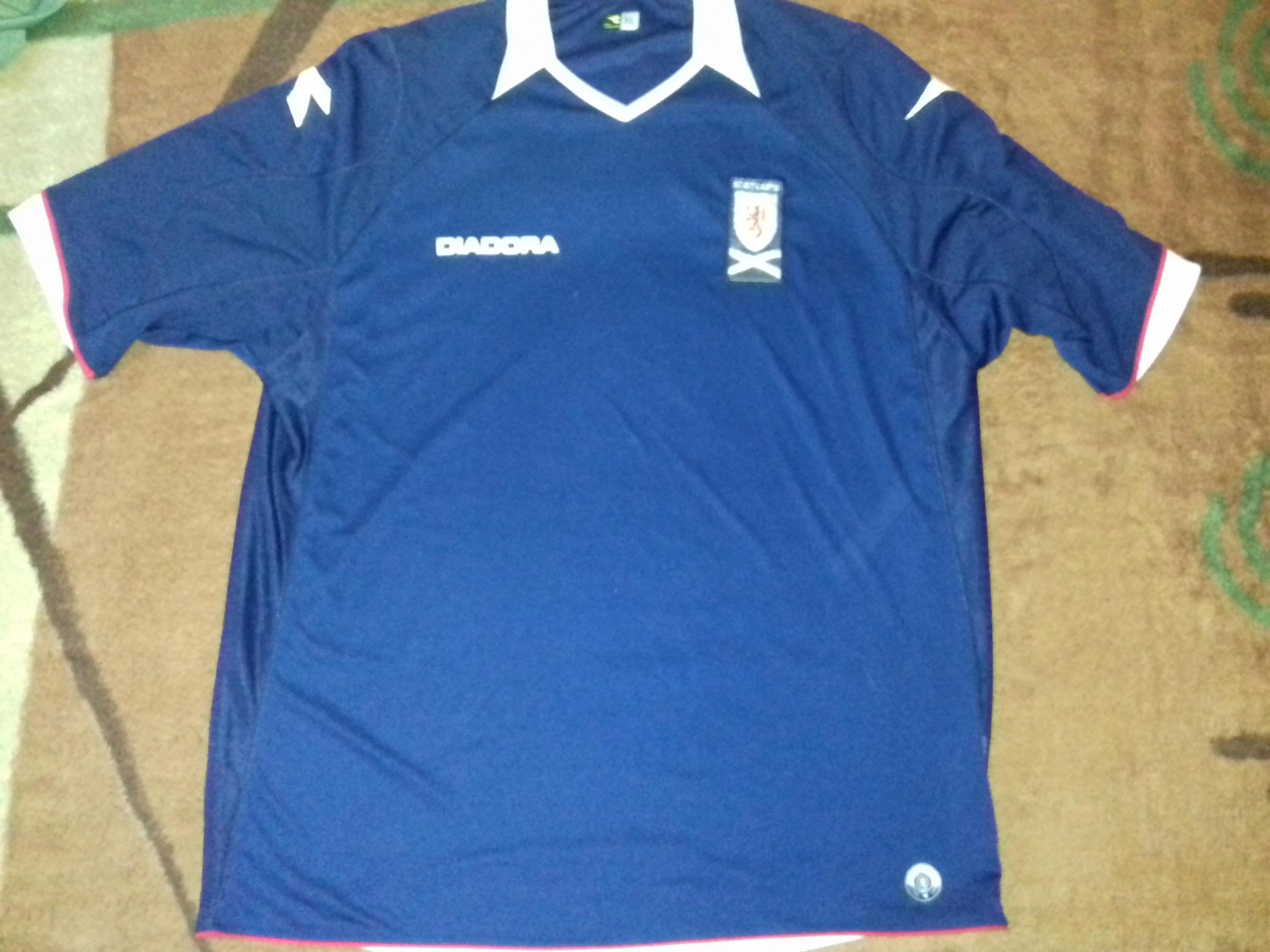 SZKOCJA 2008/09 Diadora XL