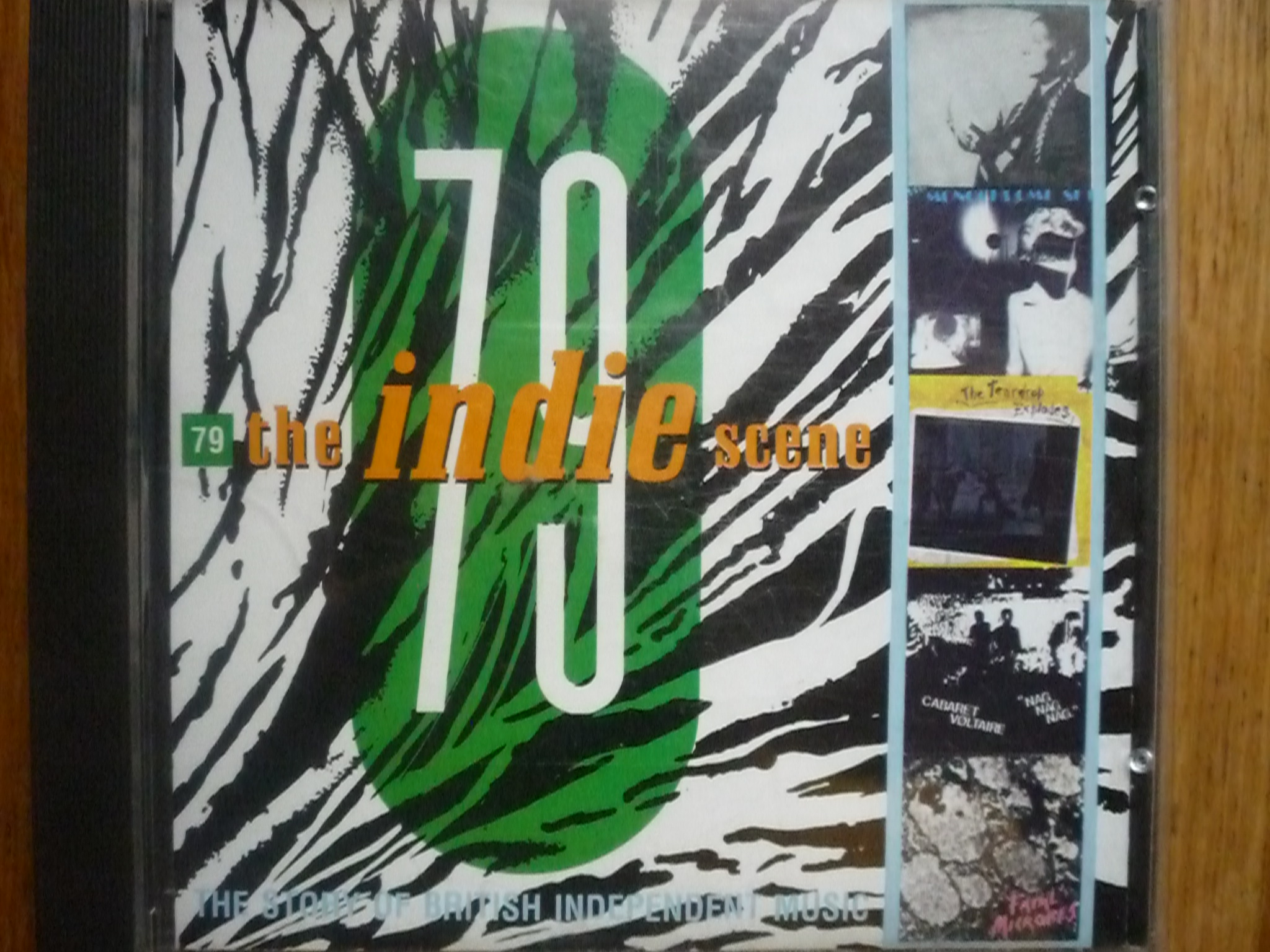 V.A. THE INDIE SCENE 79 R (INDEPENDENT MUSIC) CD