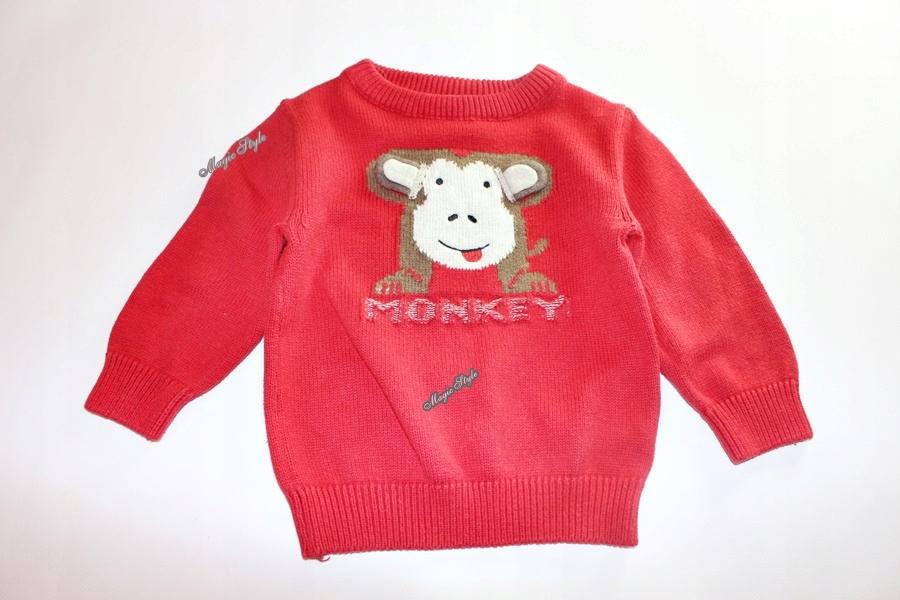 Next Wygodny Sweter Sweterek Małpka 80