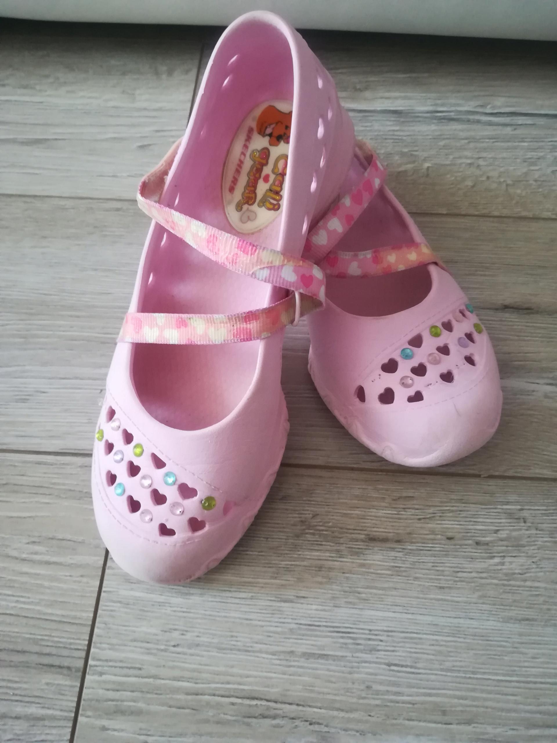 SKECHERS 1 rózowe balerinki buty do wody lato 32