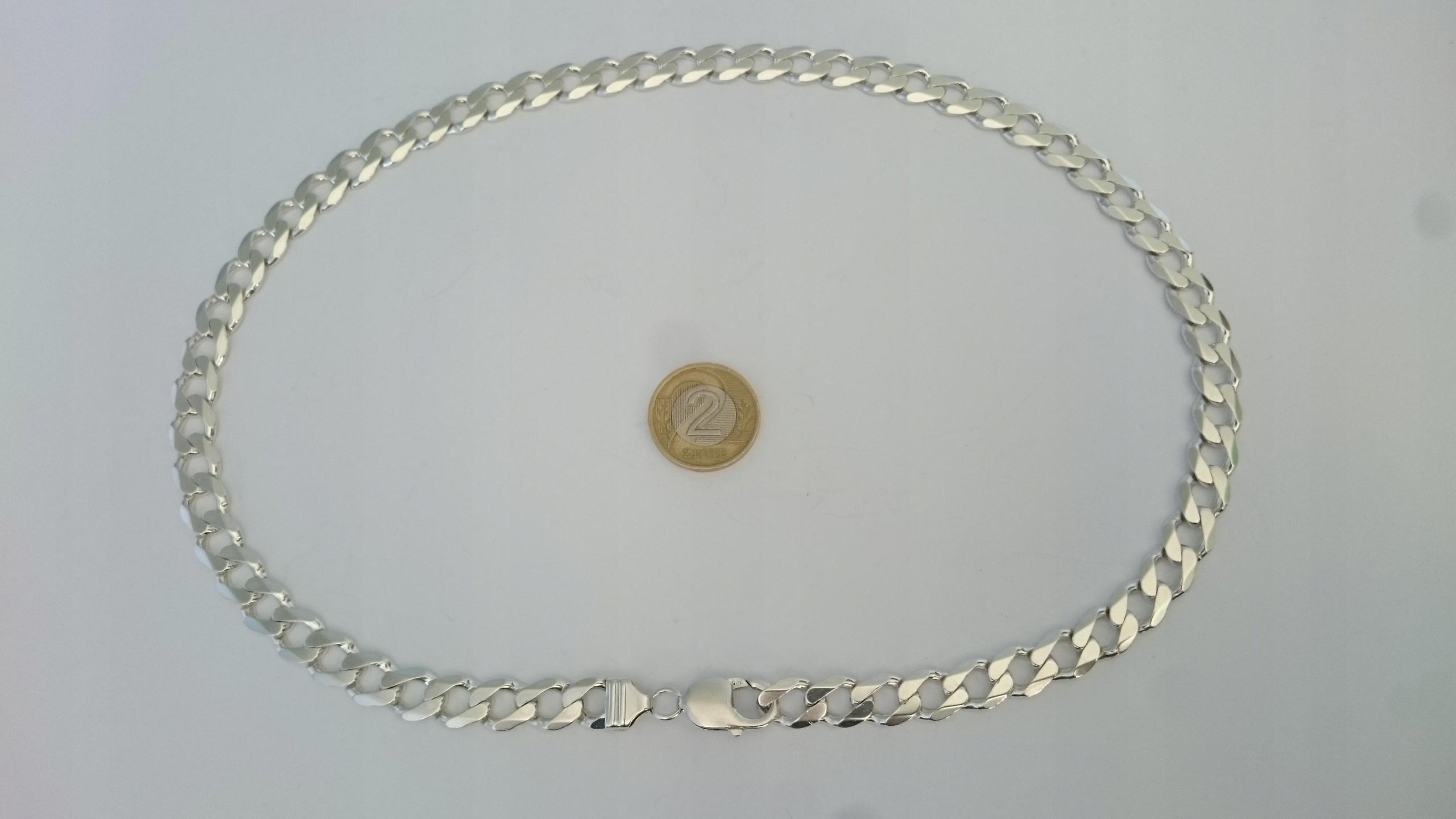 Srebrny Łańcuszek 60 Gram, Pancerka!! Pr. 925 !!