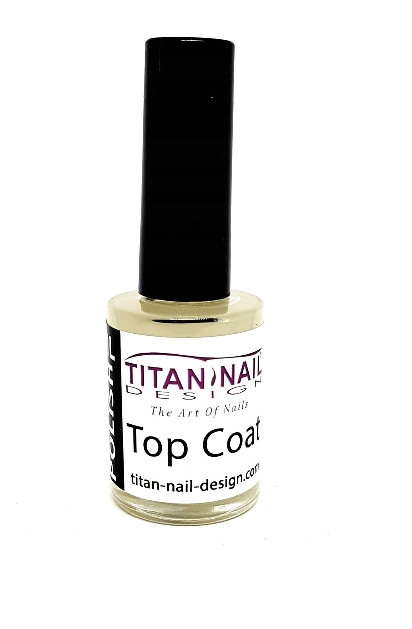 Lakier Bezbarwny Top Coat 15 ml TND