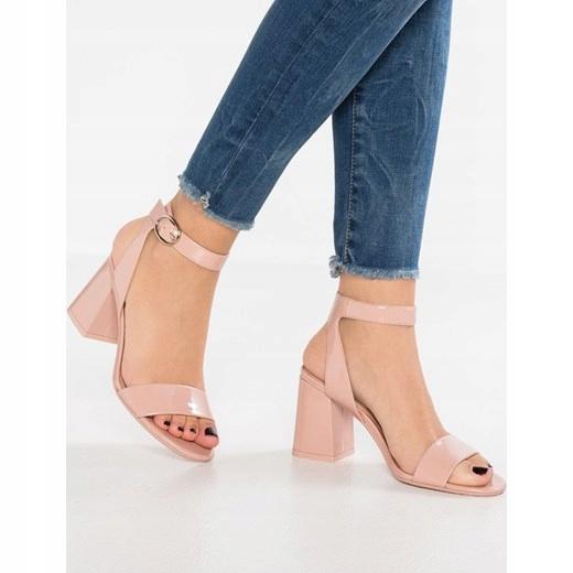 ALDO KEDERINI 42 . 5 pudrowy róż 27.5 cm sandały