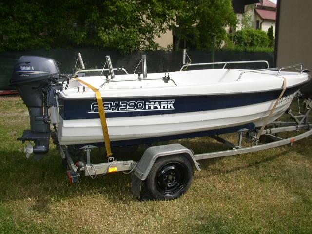 Łódz motorowa 395-NOWA ! + Yamaha 20KM