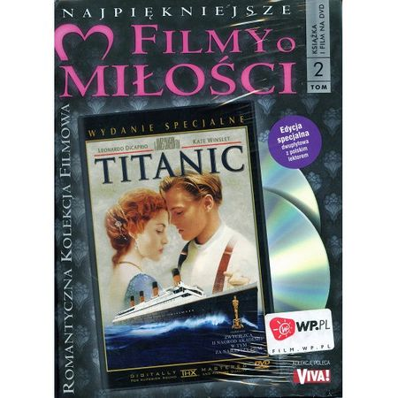 TITANIC - Leonardo DiCaprio - 2 dvd (folia) Wwa