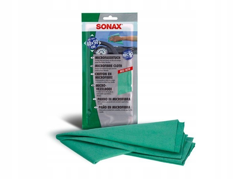 Sonax Antystatyczna ściereczka Microfibra 36x39cm