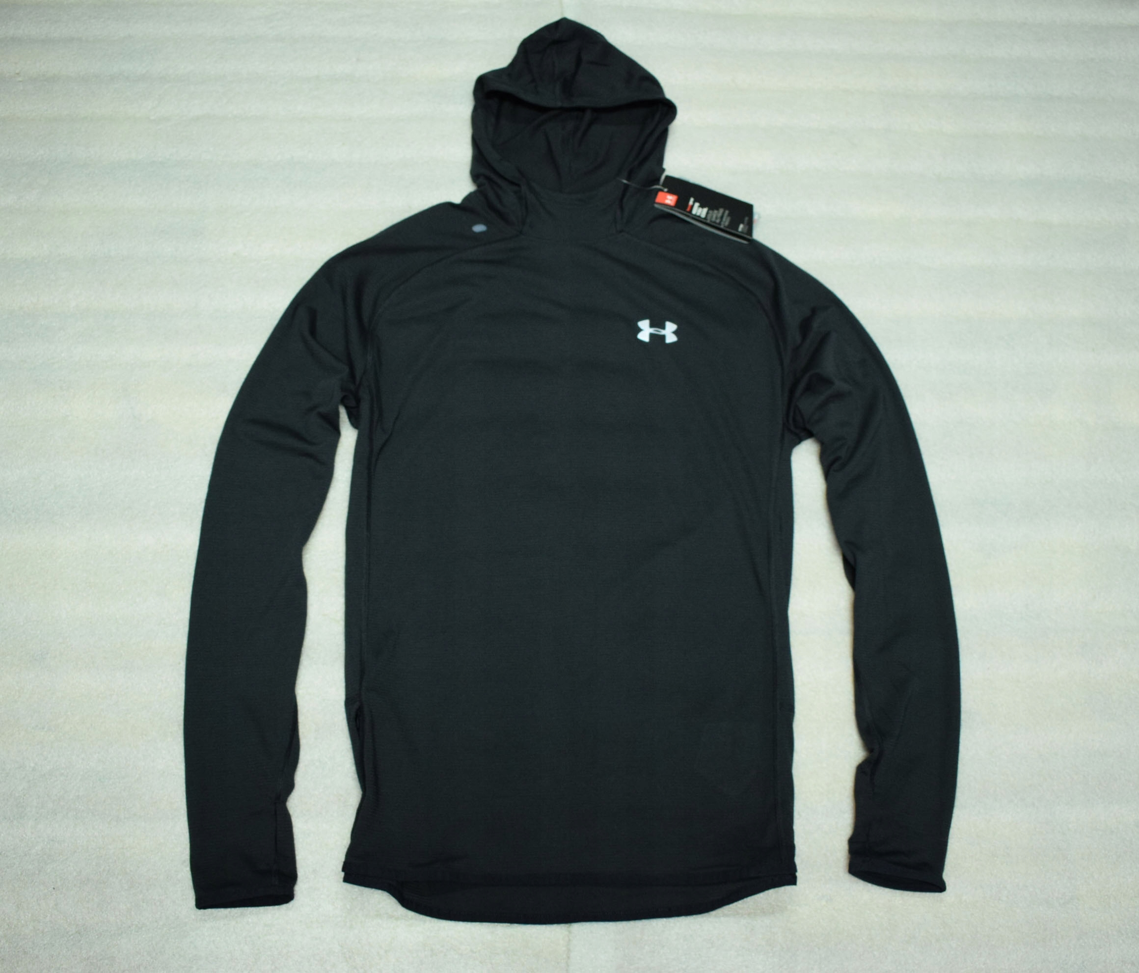 UNDER ARMOUR RUN HEATGEAR HOODIE NEW M SPRAWDŹ