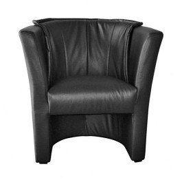 Fotel BARON 1 75x67x83 cm czarny wypoczynek salon