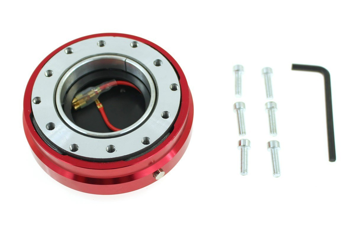 Naba Quick Release Flat Red