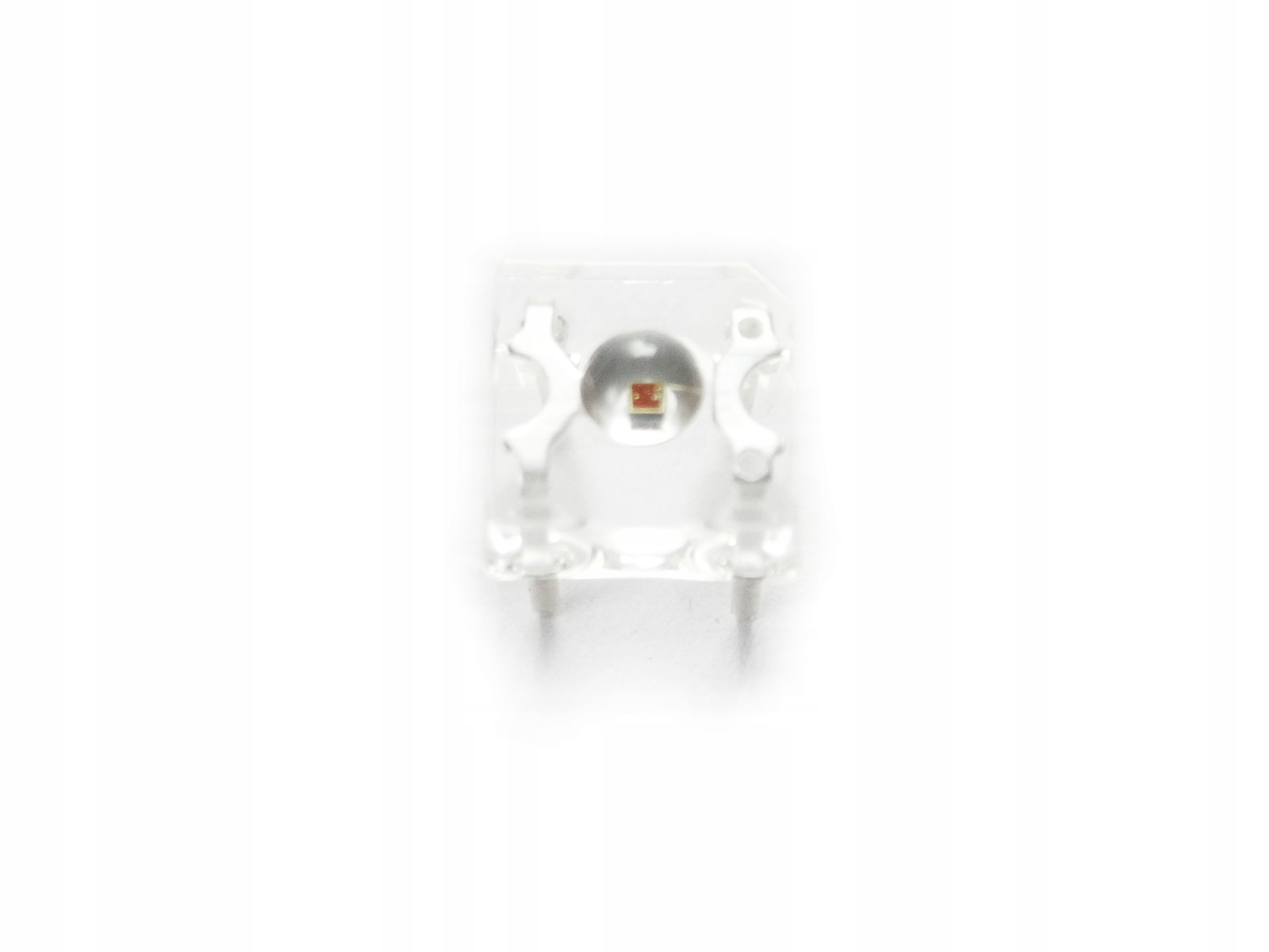 Dioda LED flux czerwona 7,6mm - 20 szt.