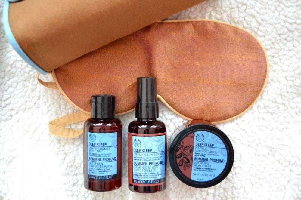 The Body Shop na prezent zestaw kosmetyków sen