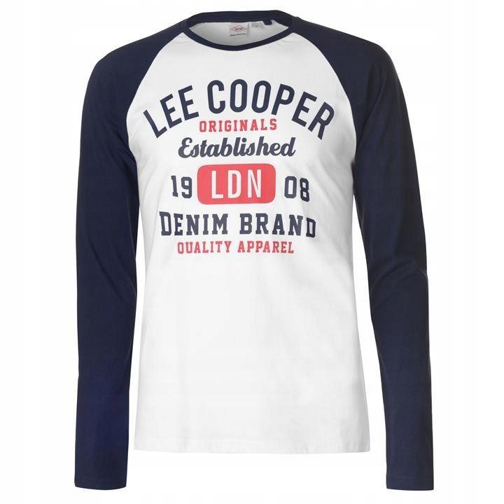 Bluza bluzka Lee Cooper długi rękaw Nowa XL