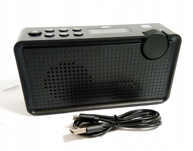 RADIO PRZENOŚNE USB DUAL DAB+ DAB 85