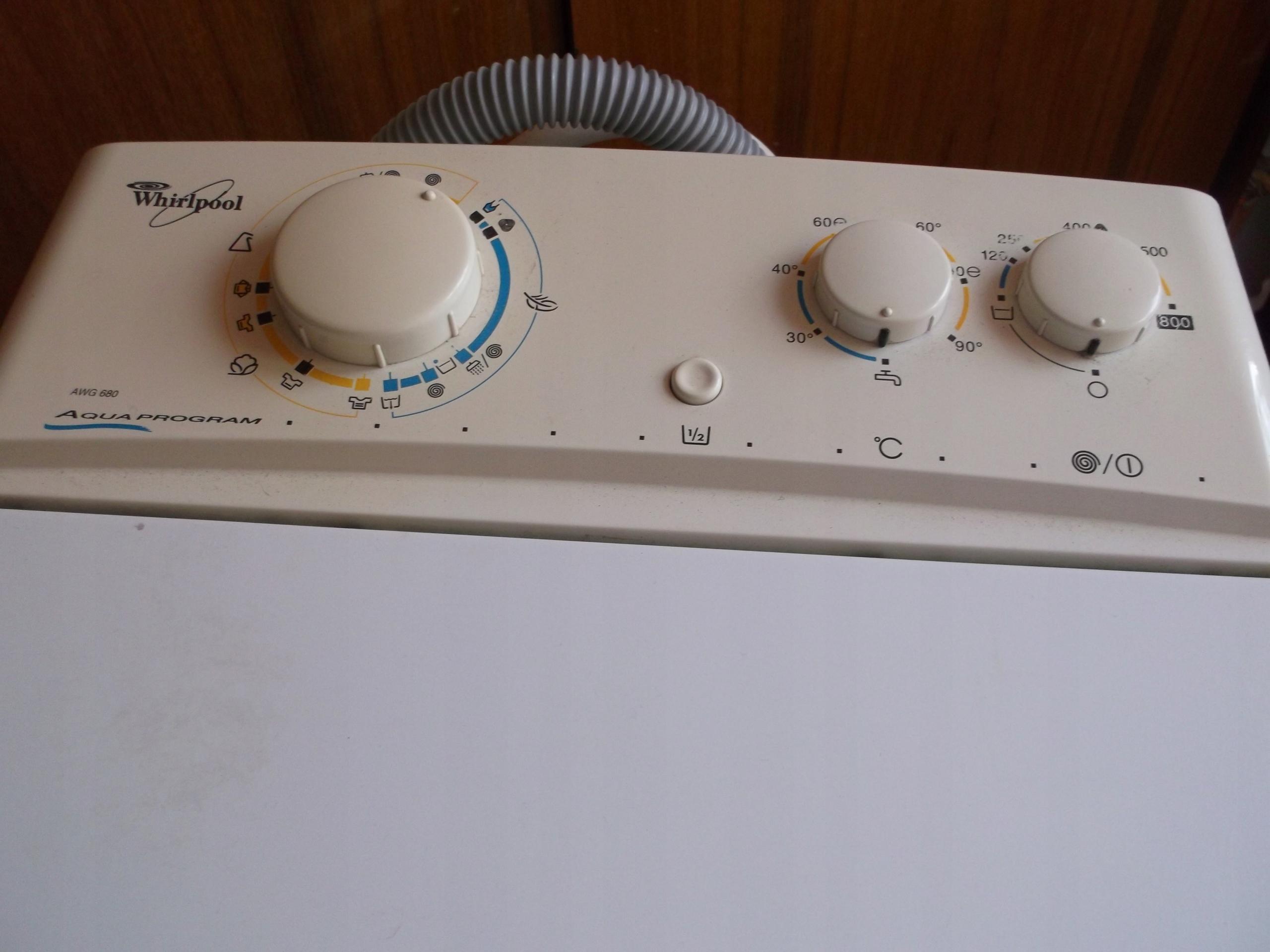 Pralka Whirlpool Używana