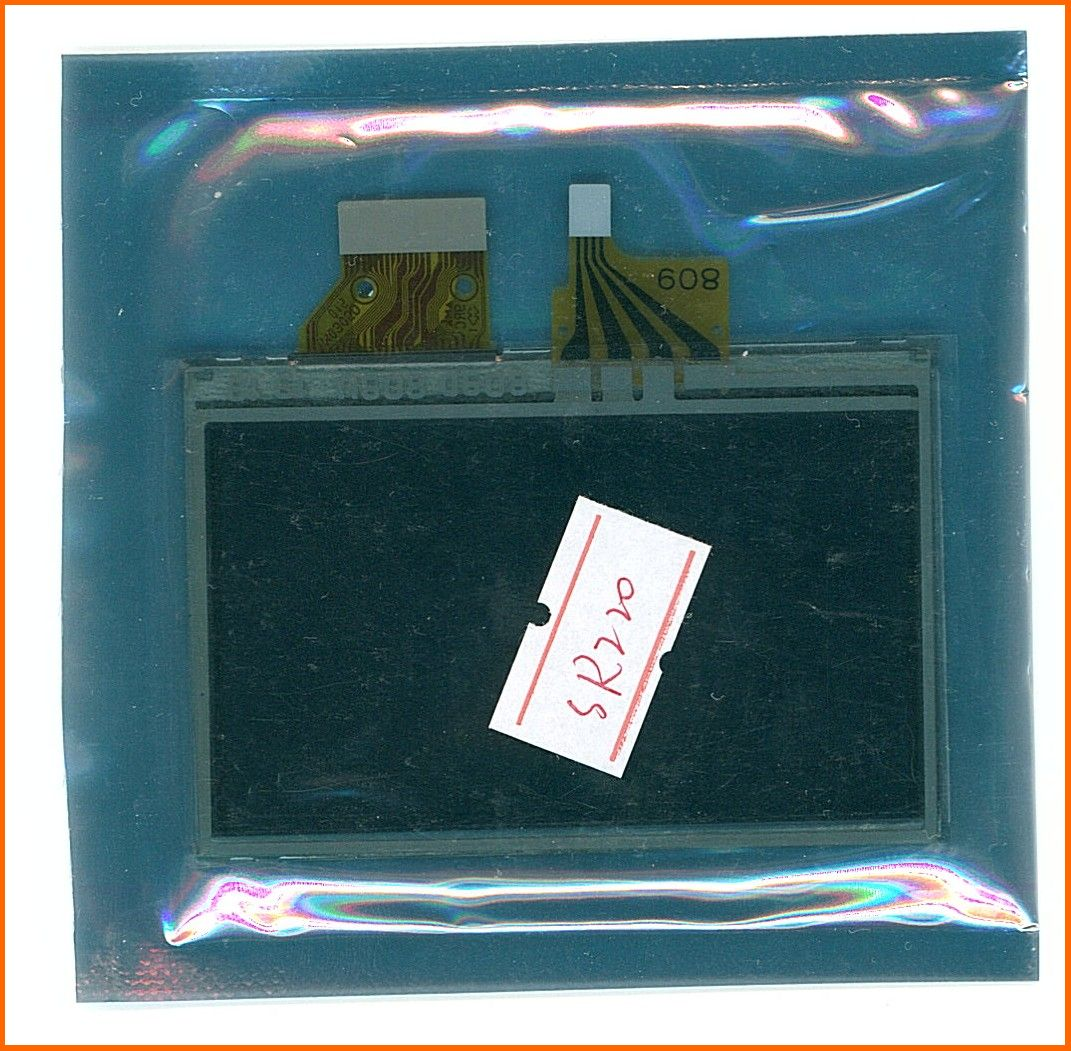 LCD Sony DCR HD1000N MC1 CX3E CX5E HD1000C HD1000U