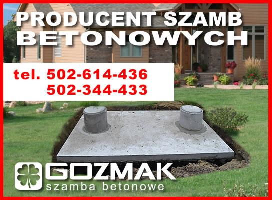 Szambo betonowe szamba 12m3, Siedlce KOMPLEKSOWO
