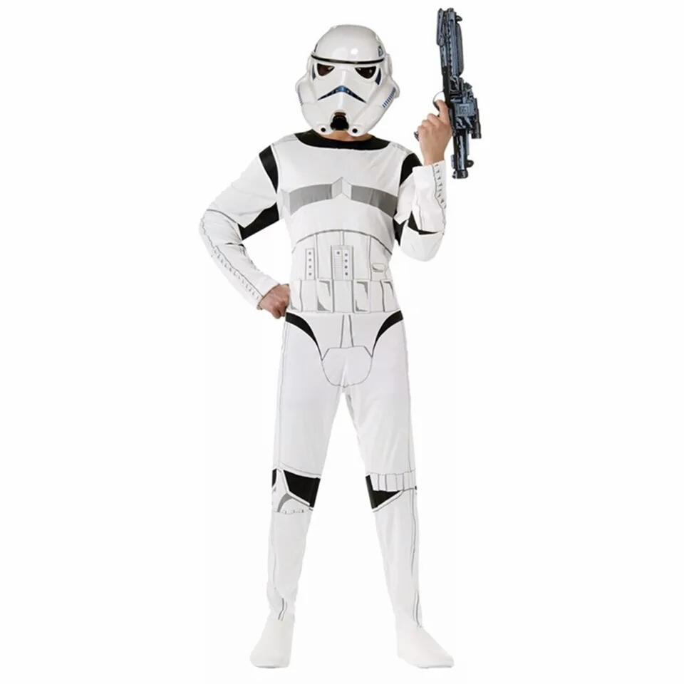 203d70207864ae Strój STAR WARS szturmowiec świecąca maska S - 7296852913 ...