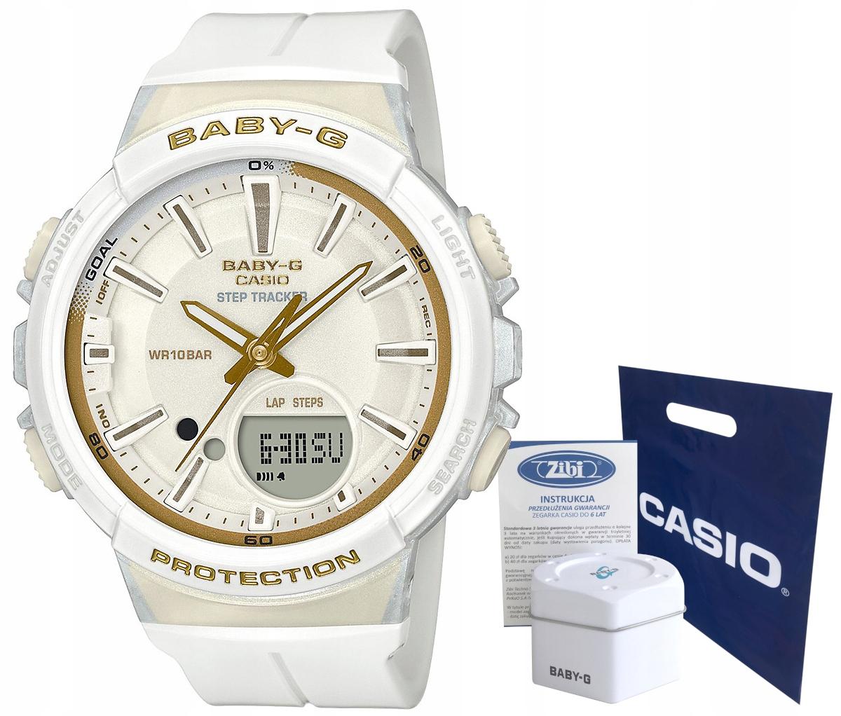 Zegarek Casio BABY-G BGS-100GS-7AER 10BAR hologram